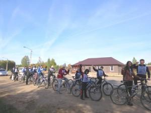 В Починке устроили велопробег, призывающий к здоровому образу жизни