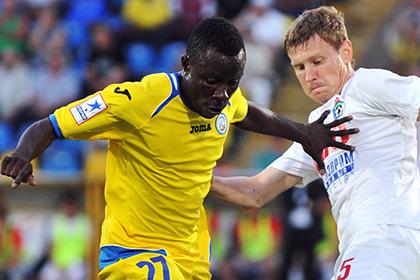 Африканский игрок «Ростова» оскорбил судью на русском языке