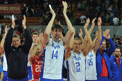 Российские волейболисты повторили рекорд команды СССР