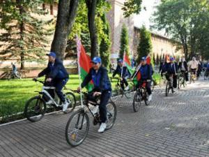 Из Смоленска стартовал велопробег молодых активистов Союзного государства