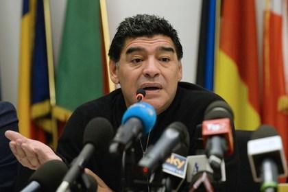 Марадона подрался в хорватском баре из-за бывшего зятя