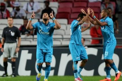 «Зенит» стартовал в Лиге чемпионов с победы над «Бенфикой»