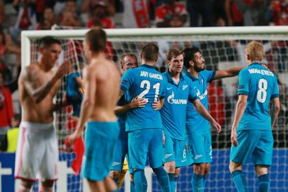 «Зенит» возглавил клубный рейтинг УЕФА
