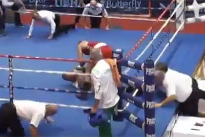 Хорватский боксер избил судью на ринге