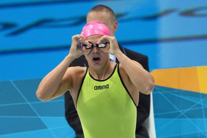 Сборную России по плаванию лишили мирового рекорда