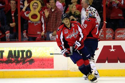 Овечкин стал самым результативным хоккеистом в истории «Вашингтона»