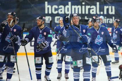 КХЛ сообщила о вирусном заболевании хоккеистов «Адмирала»
