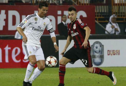«Милан» прервал победную серию «Реала»