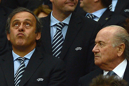 Платини отказался поддерживать Блаттера на выборах президента ФИФА