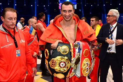Кличко стал лучшим боксером месяца по версии WBA