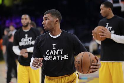 Клуб НБА присоединился к антирасиcтской акции в США