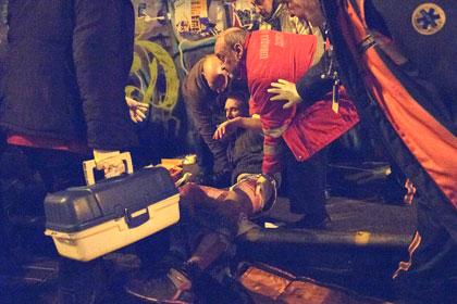 После драки с фанатами «Днепра» госпитализированы 11 французских болельщиков
