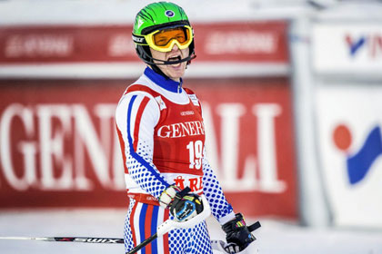 Российский горнолыжник впервые за 33 года завоевал медаль на этапе Кубка мира