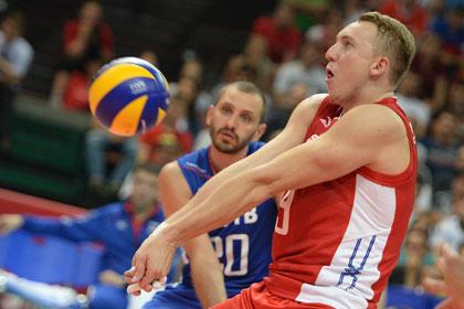 Волейболиста Спиридонова дисквалифицировали за «стрельбу» по зрителям
