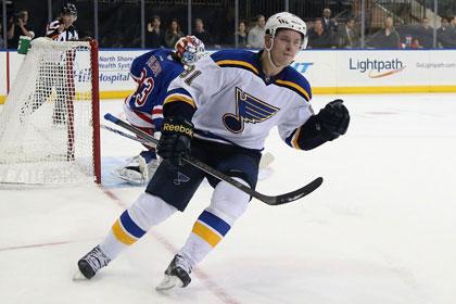 Россиянин Тарасенко стал лучшим хоккеистом игрового дня в НХЛ