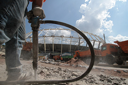 Украина построит 18 стадионов на деньги ФИФА и УЕФА