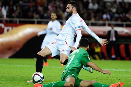 Футболист «Севильи» сделал хет-трик за 218 секунд