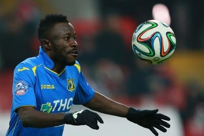 Африканский футболист показал средний палец болельщикам «Спартака»