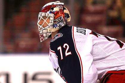 Россиянин Бобровский стал второй звездой дня в НХЛ