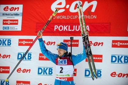 Биатлонист Шипулин выиграл для России первую медаль в сезоне