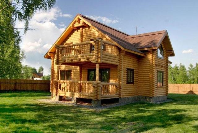 Виды дерева для постройки домов