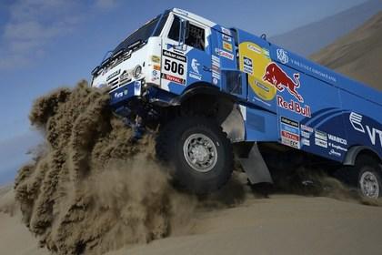 Российский экипаж выиграл пятый этап «Дакара» в классе грузовиков