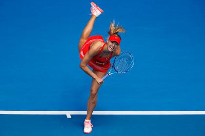 Шарапова вышла в третий круг Australian Open