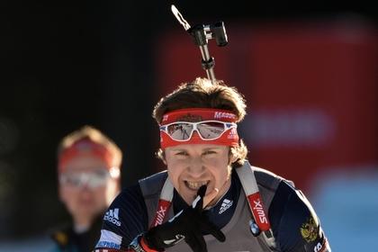 Биатлонист Лапшин стал третьим в спринте на этапе Кубка мира