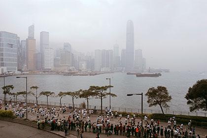 В Гонконге марафонец умер после падения за 100 метров до финиша