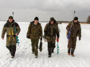 На озере Каспля будут соревноваться рыбаки
