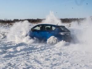В Смоленске устроят автогонки на заснеженной трассе