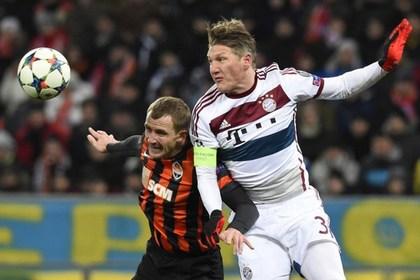 «Шахтер» в большинстве сыграл вничью с «Баварией» в Лиге чемпионов