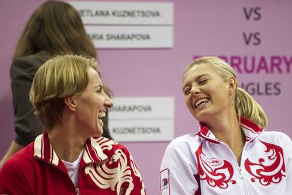 Шарапова и Кузнецова победили полек в Кубке Федерации
