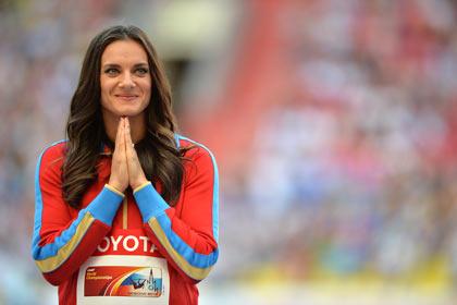 В ЦСКА сообщили о возвращении Исинбаевой в большой спорт