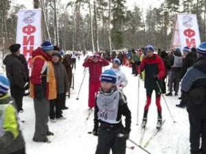 Смоляне вышли на «Лыжню России»