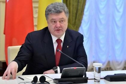 Порошенко призвал объявить бойкот ЧМ-2018 в России