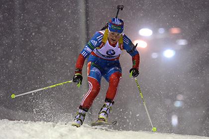 Юрлова выиграла индивидуальную гонку на чемпионате мира