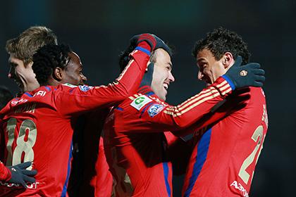 ЦСКА выиграл первый матч года
