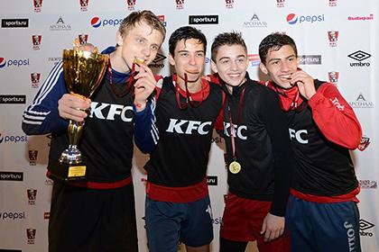 Команда из Лазаревского выиграла этап международного чемпионата по мини-футболу