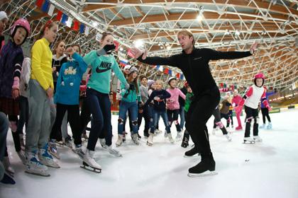 Плющенко проведет для учителей мастер-класс на паркете