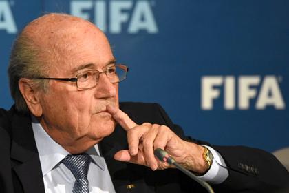Блаттер отказался от теледебатов с кандидатами на пост президента ФИФА