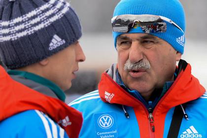 Российские биатлонисты взбунтовались против тренера