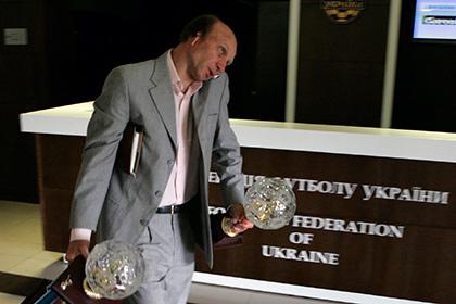 На Украине под угрозой срыва оказались выборы главы футбольной федерации