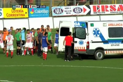 Аргентинский футболист умер во время матча