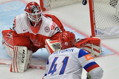 Сборная России обыграла датчан на чемпионате мира по хоккею