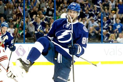 Россиянина назвали первой звездой дня в НХЛ