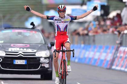 Россиянин победил на 11-м этапе веломногодневки «Джиро д'Италия»