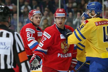 Тренер шведов назвал самых опасных хоккеистов сборной России