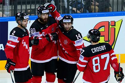 Белоруссия пропустила девять безответных шайб от Канады