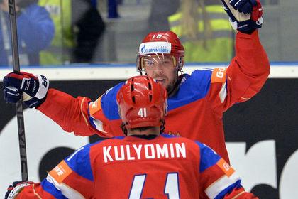 Сборная России вырвала победу у шведов в четвертьфинале чемпионата мира